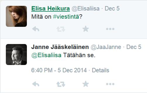 Twitter vastaa